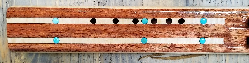 Bubinga/Tiger Maple Drone by Laughing Crow