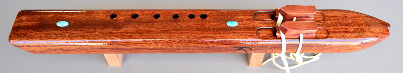 Native American Bubinga Drone by Laughing Crow