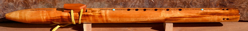 Tigerwood Flute by Laughing Crow