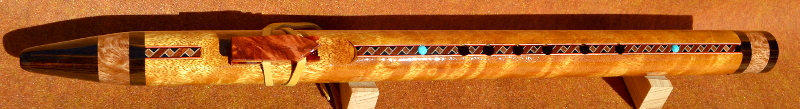 Movingui F#m Native American Style Flute by Laughing Crow